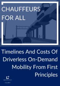 Automotive research, Automotive strategy, Automotive trends, Auto industry trends, Automotive market research, Auto industry news, self-driving vehicles, driverless vehicles, ride hailing, on-demand mobility